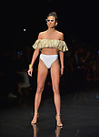 MIAMI, FL - MAY 30: A Model walks the runway during the Miami Fashion Week RR by Rene Fashion Show at Ice Palace Film Studios on May 30, 2019 in Miami, Florida. ( Photo by Johnny Louis / jlnphotography.com )
