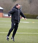 06.04.2018 Rangers training:<br /> Graeme Murty