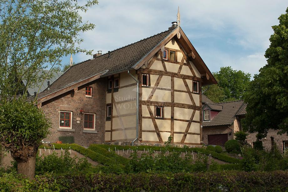 Vakwerk huizen te Terziet - Limburg