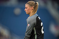 Orlando, FL - Saturday July 16, 2016: Kaitlyn Savage prior to a regular season National Women's Soccer League (NWSL) match between the Orlando Pride and the Chicago Red Stars at Camping World Stadium.