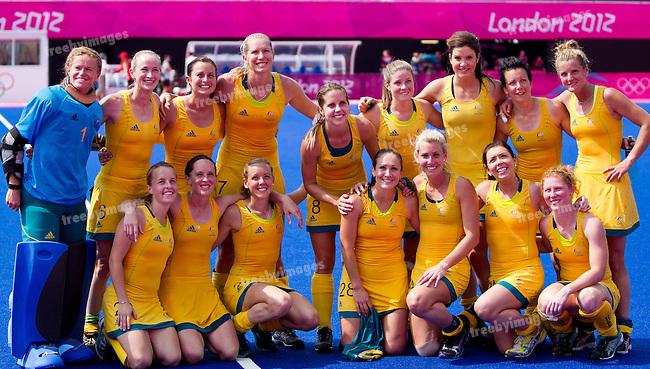 London Olympics 09/08/2012.Mens Hockey, Semi Final Australia v Germany....Photo: Grant Treeby