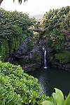 Seven Sacred Pools At Ohe'o, Kipahulu National Park