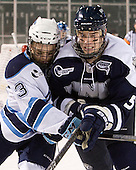 Spencer Abbott (Maine - 13), Eric Knodel (UNH - 5) - The University of Maine Black Bears defeated the University of New Hampshire Wildcats 5-4 in overtime on Saturday, January 7, 2012, at Fenway Park in Boston, Massachusetts.