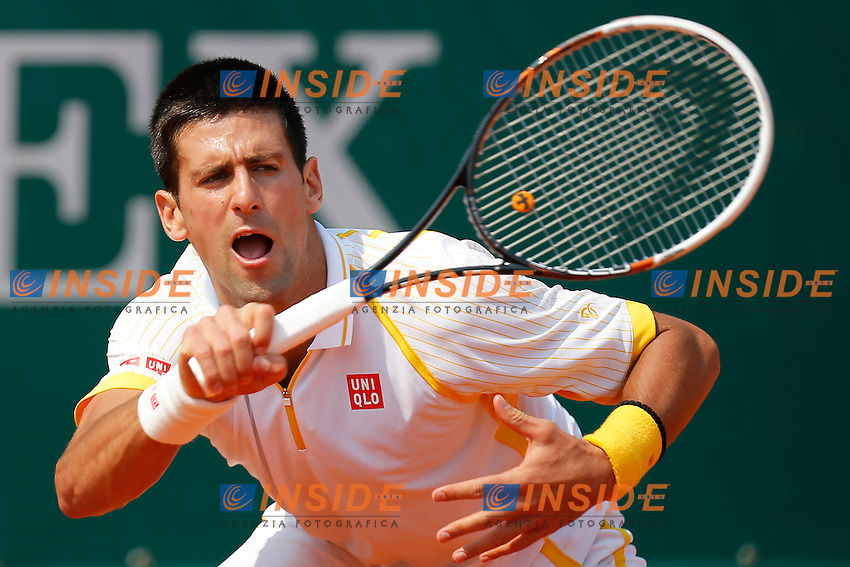 Novak Djokovic, Monte - Carlo, Monaco 14/4/2013 .Monte - Carlo Rolex Masters, Tennis, Atp World Tour.Tennis..Foto Marco Bertorello Insidefoto