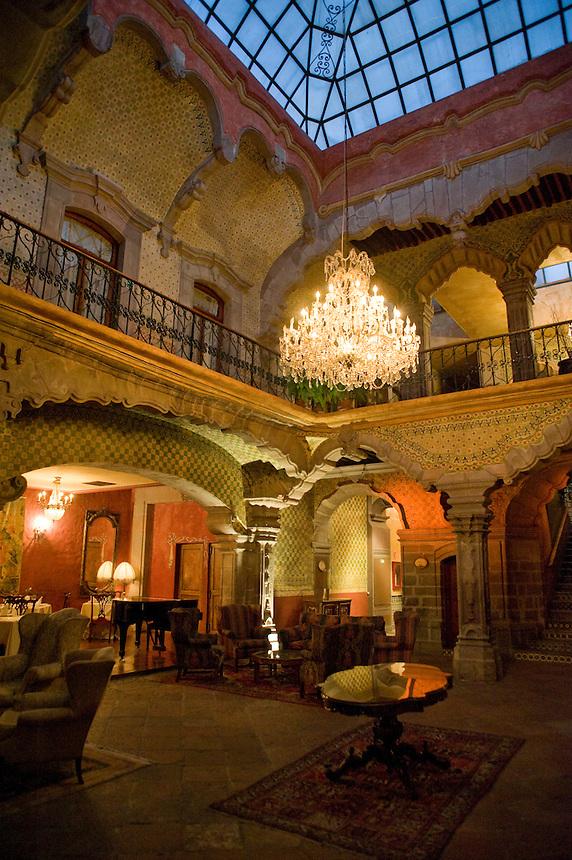 18th century boutique hotel; La Casa de la Marquesa, Queretaro, Queretaro, Aromas y Sabores with Chef Patricia Quintana