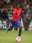 Spain's Inaki Williams in action during the UEFA Under 21 Final at the Stadion Cracovia in Krakow. Picture date 30th June 2017. Picture credit should read: David Klein/Sportimage
