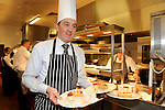 IHF- REPRO FREE HOTELIERS CONFERENCE KILLARNEY: .Michael Vaughan, President IHF lends a helping hand in the kitchen at the IHF conference in The Malton Hotel, Killarney on Monday where delegates heard there was a shortage of chefs in the industry..Picture by Don MacMonagle...PR photo IHF