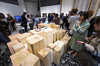 55th Art Biennale in Venice - The Encyclopedic Palace (Il Palazzo Enciclopedico).<br /> Giardini. Japan Pavilion.<br /> Koki Tanaka (Japan).