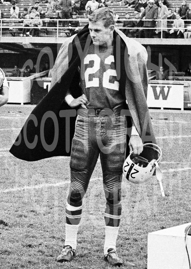 Dick Shatto Toronto Argonauts 1963 Copyright photograph Ted Grant