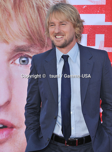 Owen Wilson 131 arriving at The Internship Premiere at the Westwood Village Theatre in Los Angeles.
