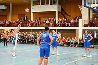 HAREN - Basketbal, Martini Sparks - Den Helder, Basketbal League vrouwen, seizoen 2018-2019, 08-11-2018,  strafwerk Martini Sparks speelster Marit Siersema