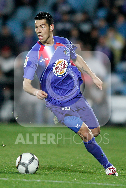 Getafe's Miku during La Liga match. March 25, 2010. (ALTERPHOTOS/Alvaro Hernandez)