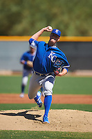 Kansas City Royals pitcher Scott Blewett (37) during an Instructional League game against the Texas Rangers on October 4, 2016 at the Surprise Stadium Complex in Surprise, Arizona.  (Mike Janes/Four Seam Images)