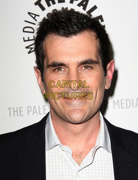 "TY BURRELL .27th Annual PaleyFest Presents ""Modern Family"" held At The Saban Theatre, Beverly Glen circle, USA, .26th February 2010..portrait headshot hair chest  white shirt  blue.CAP/ADM/KB.©Kevan Brooks/AdMedia/Capital Pictures."