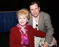 """28 December 2016 - Debbie Reynolds, the Oscar-nominated """"Singin' in the Rain,""""  singer-actress who was the mother of late actress Carrie Fisher, has died. She was 84. """"She wanted to be with Carrie,"""" her son Todd Fisher told Variety. She was taken to the hospital from Todd Fisher's Beverly Hills house Wednesday after a suspected stroke, the day after her daughter Carrie Fisher died. File Photo: Mar 26, 2003; Hollywood, CA, USA; Actor DEBBIE REYNOLDS and son TODD FISHER @ the Hollywood Chamber of Commerce 82nd Annual Meeting & Lifetime Achievement Luncheon honoring Debbie Reynolds held at the Renaissance Hollywood Hotel. Photo Credit: Laura Farr/AdMedia"""
