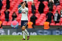 Son Heung-Min of Tottenham Hotspur after Tottenham Hotspur vs Crystal Palace, Premier League Football at Wembley Stadium on 5th November 2017