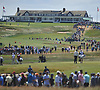 Fans flock to Shinnecock Hills Golf Club in Southampton to watch the second round of the U.S. Open Championship on Friday, June 15, 2018.