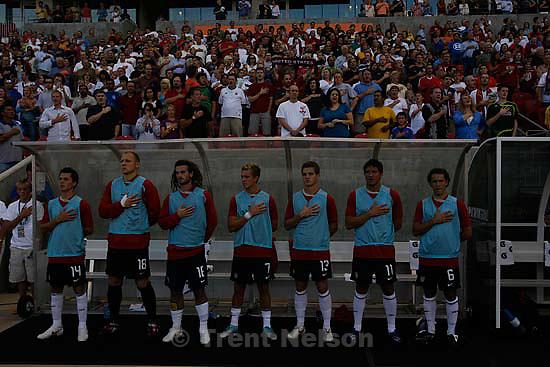 Sandy - USA vs. El Salvadar FIFA World Cup Qualifier Soccer Saturday, September 5 2009 at Rio Tinto Stadium. .us reserves