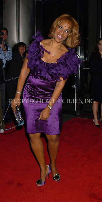 WWW.ACEPIXS.COM . . . . .  ....NEW YORK, MAY 8, 2006....Gayle King at Time Magazine's 100 Most Influential People 2006... ....Please byline: AJ Sokalner - ACEPIXS.COM.... *** ***..Ace Pictures, Inc:  ..(212) 243-8787 or (646) 769 0430..e-mail: picturedesk@acepixs.com..web: http://www.acepixs.com