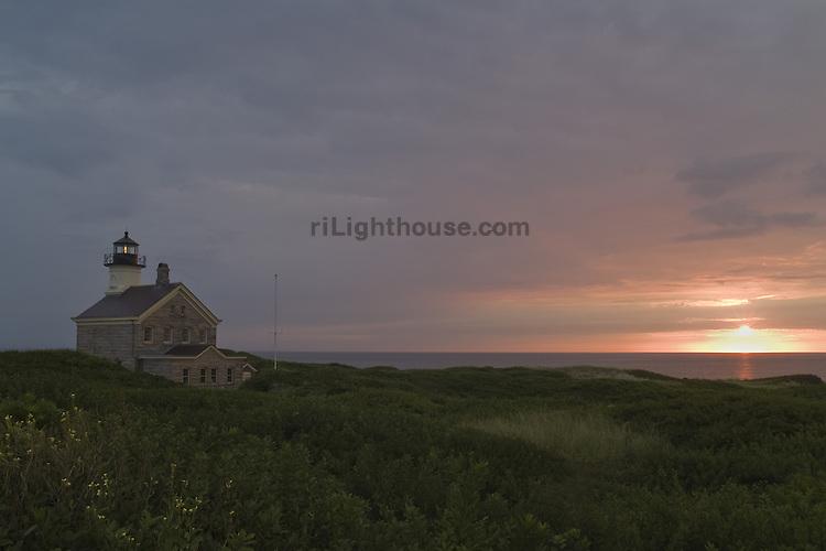 North Light Block Island Sunrise