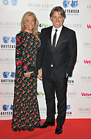 Melanie Bishop and John Bishop at the Battersea Dogs &amp; Cats Home Collars &amp; Coats Gala Ball 2018, Battersea Evolution, Battersea Park, London, England, UK, on Thursday 01 November 2018.<br /> CAP/CAN<br /> &copy;CAN/Capital Pictures