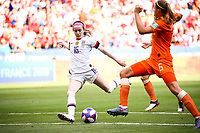 Rose Lavelle (USA) marque<br /> Lyon 07/07/2019<br /> Football Womens World Cup Final <br /> United States - Netherlands <br /> Photo  Gwendoline LeGoff / Panoramic/Insidefoto <br /> ITALY ONLY