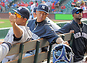 Hiroki Kuroda (Yankees),<br /> JULY 22, 2013 - MLB :<br /> Hiroki Kuroda (C) of the New York Yankees during the Major League Baseball game against the Texas Rangers at Rangers Ballpark in Arlington in Arlington, Texas, United States. (Photo by AFLO)
