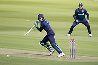 Keaton Jennings of Lancashire CCC guides the ball through the vacant gully area for runs  on his way to 96 during Middlesex vs Lancashire, Royal London One-Day Cup Cricket at Lord's Cricket Ground on 10th May 2019