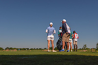 Morgan Pressel (USA) looks over her tee shot on 9 during round 2 of  the Volunteers of America LPGA Texas Classic, at the Old American Golf Club in The Colony, Texas, USA. 5/6/2018.<br /> Picture: Golffile | Ken Murray<br /> <br /> <br /> All photo usage must carry mandatory copyright credit (&copy; Golffile | Ken Murray)