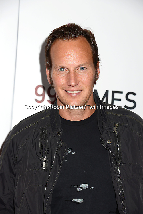 Patrick Wilson attend the New York Premiere of &quot;99 Homes&quot; on September 17, 2015 at AMC Loews Lincoln Square in New York City, New York, USA.<br /> <br /> photo by Robin Platzer/Twin Images<br />  <br /> phone number 212-935-0770