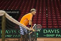 09-09-13,Netherlands, Groningen,  Martini Plaza, Tennis, DavisCup Netherlands-Austria, DavisCup,   Thiemo de Bakker (NED)<br /> Photo: Henk Koster