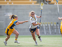 Berkeley, Ca. - The Cal Bears Lacrosse team vs Marquette University at California Memorial Stadium. Final score - Cal 18, Marquette 11.