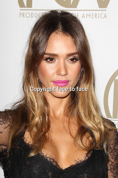 BEVERLY HILLS, CA - JANUARY 26: Jessica Alba at the 24th Annual Producers Guild of America Awards at The Beverly Hilton Hotel in Beverly Hills, California...Credit: MediaPunch/face to face..- Germany, Austria, Switzerland, Eastern Europe, Australia, UK, USA, Taiwan, Singapore, China, Malaysia and Thailand rights only -