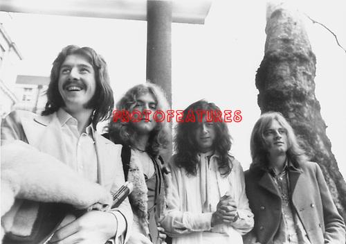 Led Zeppelin 1970 John Bonham, Robert Plant, Jimmy Page and John Paul Jones......