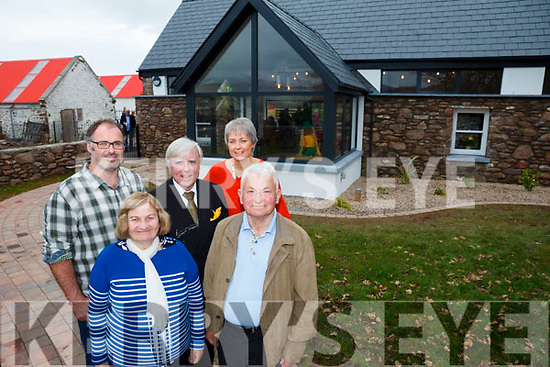 Owners of Sandy Feet Farm in Camp Roy and Eleanor Bowler launched their new business on Thursday afternoon which was filmed by RTE's At Your Service with Francis Brennan. Also pictured are family members BB O'Shea and John O'Shea.