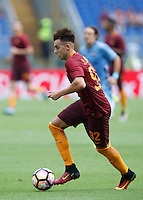 Calcio, Serie A: Roma vs Sampdoria. Roma, stadio Olimpico, 11 settembre 2016.<br /> Roma&rsquo;s Stephan El Shaarawy in action during the Italian Serie A football match between Roma and Sampdoria at Rome's Olympic stadium, 11 September 2016. Roma won 3-2.<br /> UPDATE IMAGES PRESS/Isabella Bonotto
