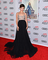 "LOS ANGELES, CA. November 08, 2018: Cailee Spaeny at the AFI Fest 2018 world premiere of ""On the Basis of Sex"" at the TCL Chinese Theatre.<br /> Picture: Paul Smith/Featureflash"