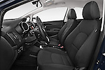 Front seat view of2015 KIA Rio World Edition 5 Door Hatchback Front Seat car photos