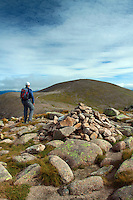 Cairn Gorm from Stob Coire an t-Sneachda, Cairngorm National Park, Badenoch and Speyside, Highland