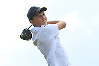 Luis Surgenor (Galgorm Castle) on the 10th tee during the Final round in the Connacht U16 Boys Open 2018 at the Gort Golf Club, Gort, Galway, Ireland on Wednesday 8th August 2018.<br /> Picture: Thos Caffrey / Golffile<br /> <br /> All photo usage must carry mandatory copyright credit (&copy; Golffile | Thos Caffrey)