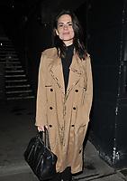 "JUN 15 Hayley Atwell at the ""Rosmersholm"" theatre cast stage door departures"