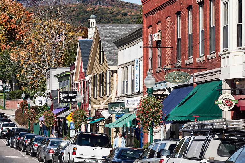 Downtown, Camden, Maine, ME, USA