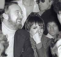 1978 <br /> New York City<br /> Jack Haley Jr. Liza Minnelli, Michael Jackson at Studio 54<br /> CAP/MPI/PHI<br /> &copy;MPI67/Capital Pictures