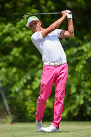 Rickie Fowler (USA) watches his tee shot on 8 during round 2 of the 2019 Charles Schwab Challenge, Colonial Country Club, Ft. Worth, Texas,  USA. 5/24/2019.<br /> Picture: Golffile   Ken Murray<br /> <br /> All photo usage must carry mandatory copyright credit (© Golffile   Ken Murray)