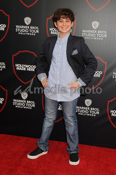 14 July 2015 - Burbank, California - Jax Malcolm. Warner Bros. Studio Tour Stage 48: Script to Screen Launch Event held at Warner Bros. Studios. Photo Credit: Byron Purvis/AdMedia