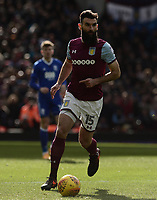 Mile Jedinak of Aston Villa in action during the Sky Bet Championship match between Aston Villa and Birmingham City at Villa Park, Birmingham, England on 11 February 2018. Photo by Bradley Collyer/PRiME Media Images.