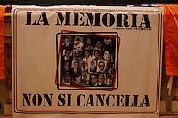NAPOLI IL MINISTRO ANNAMARIA CANCELLIERI PARTECIPA ALLA GIORNATA DELLA MEMORIA E DELL'IMPEGNO CONTRO LE MAFIE .NELLA FOTO.FOTO CIRO DE LUCA
