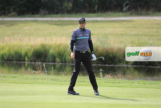 Joachim B Hansen (DEN) during the second round of the Porsche European Open , Green Eagle Golf Club, Hamburg, Germany. 06/09/2019<br /> Picture: Golffile | Phil Inglis<br /> <br /> <br /> All photo usage must carry mandatory copyright credit (© Golffile | Phil Inglis)