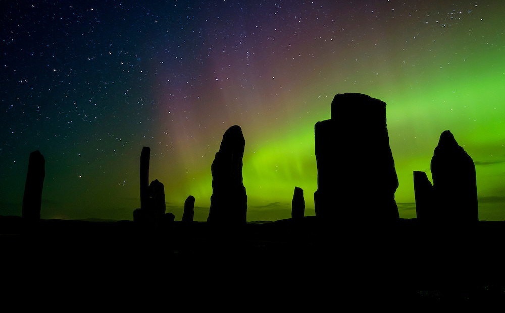 Northern Lights Over The Callanish Stones Daniel