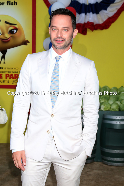 "LOS ANGELES - AUG 9:  Nick Kroll at the ""Sausage Party"" Premiere at the Village Theater on August 9, 2016 in Westwood, CA"